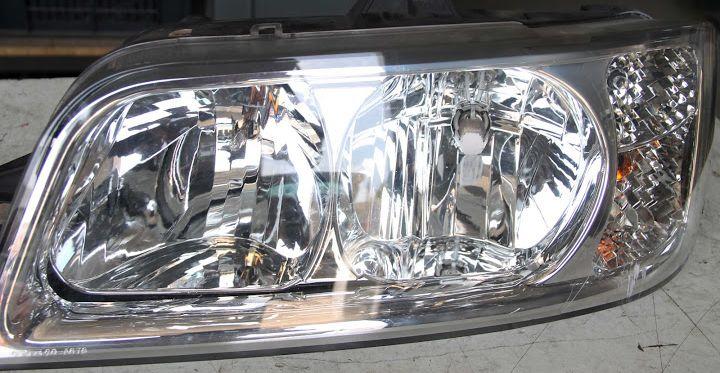 Citroen hátsó lámpa, első fényszóró
